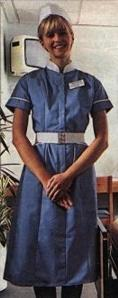 Sister in Newcastle uniform, from Graeme. UK 1980s.