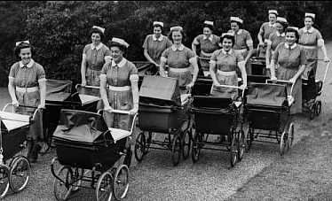 Trainee Nannies from the 1940s