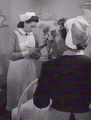 Sister and Nurse from 'Emergency Call', UK 1952.