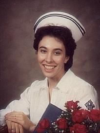 Here's an American Nurse's Graduation picture from the '70s.