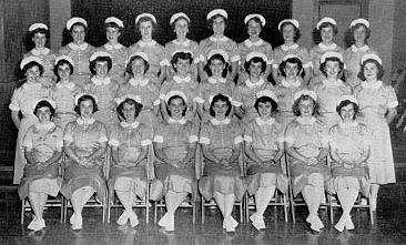 Two shots of American Student Nurses from the early 1950s.