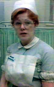 Nurse Sweet played by Lynn Redgrave, 'The National Health', UK 1973.