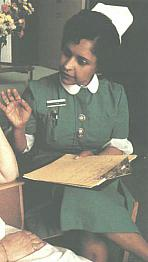 State Registered Nurse, 1989. From Mary.