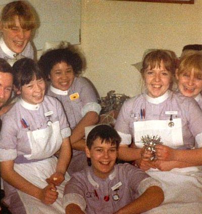 Middlesex Hospital UK 1980s. From Sarah
