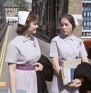 Episode On the Mat from 'Angels', UK 1975